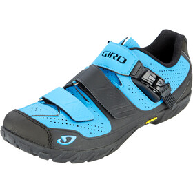 Giro Terraduro Shoes Herre blue jewel/black